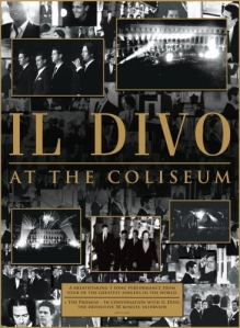 Capa do DVD Live At Coliseum - 2008