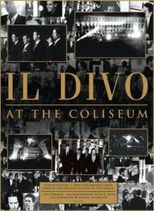 Capa do DVD Live At Coliseum - 2008