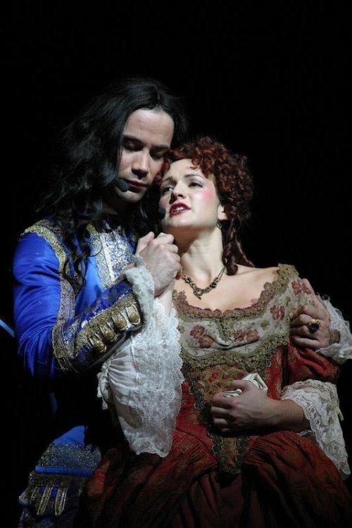 Louis XIV et Françoise  Le Roi Soleil, la comédie musicale