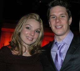 Sarah Joy (Three Graces) e David Miller (Il Divo) - Casamento no verão de 2009