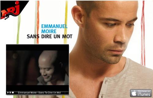 Clipe Sans Dire Un Mot de Emmanuel Moire - L'Équilibre, 2009