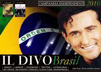 Assinatura/wallpaper Carlos Marin (Il Divo) - tema Brasil