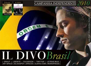 Assinatura de Urs Buhler com tema Brasil