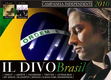 Assinatura/wallpaper Urs Buhler (Il Divo) - tema Brasil