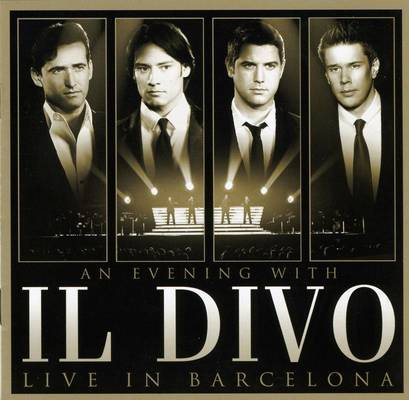 DVD An Evening With Il Divo