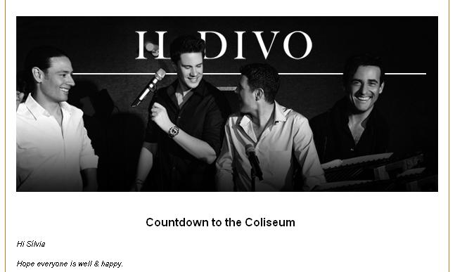 DIVO BAIXAR AT IL DVD THE COLISEUM