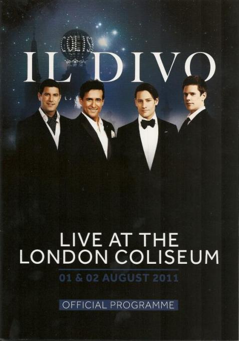 Il divo wicked game world tour libert - Il divo at the coliseum ...
