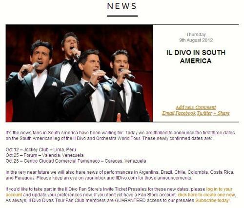 News libert - Il divo website ...