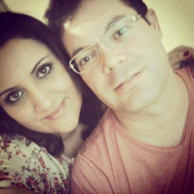 Eu e meu namorado lindo, Gustavo!
